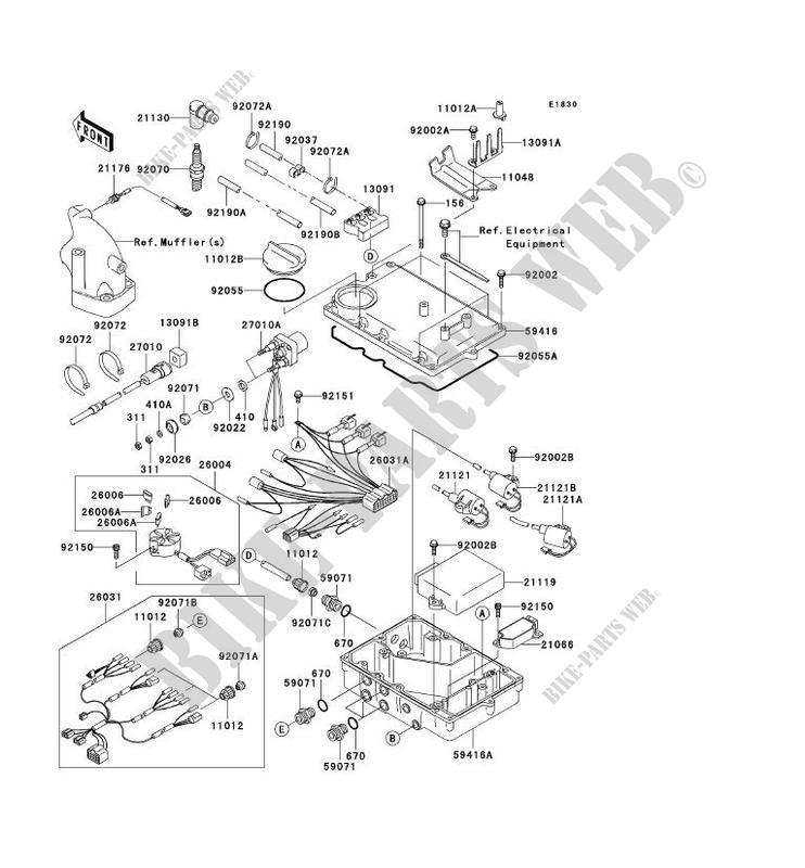 Kawasaki Jet Ski Parts Diagram Download Wiring Diagram