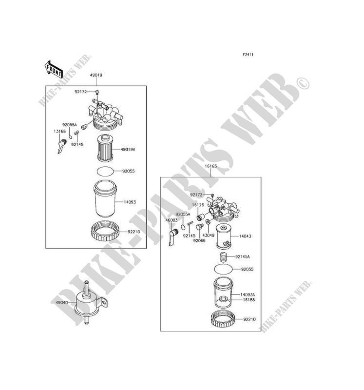 Kawasaki Mule Fuel Filter Wiring Diagram