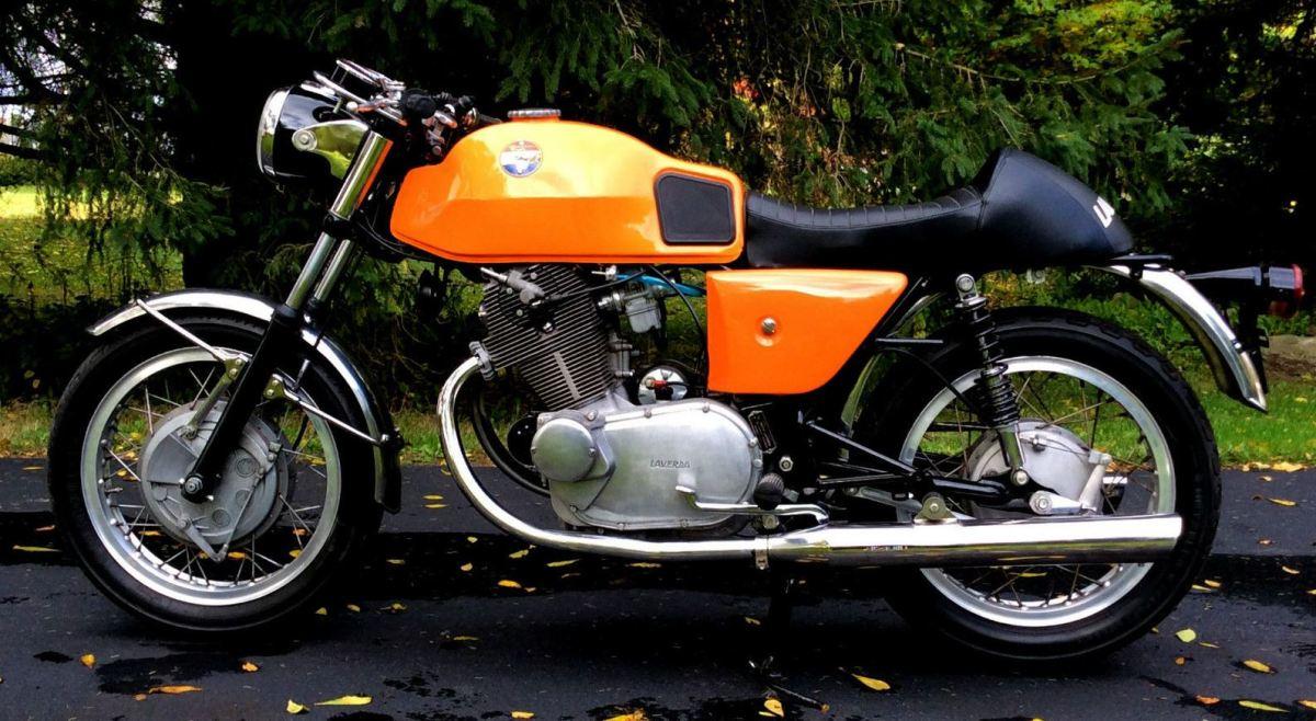 Early Laverda - 1969 American Eagle 750S