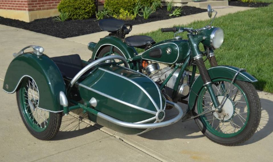 1953 BMW 51/3 with Sidecar