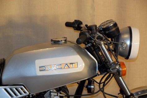Ducati 500 GTL - Tank
