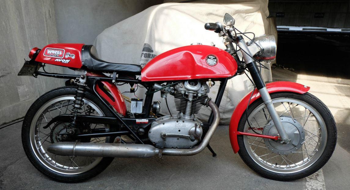 Moto Giro Racer - 1966 Ducati Monza 250