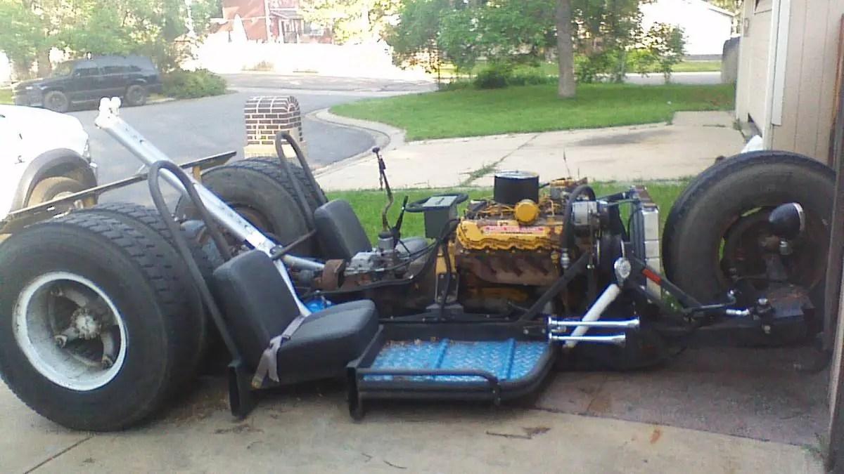 Gigantic Custom Diesel Trike