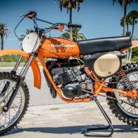 1973 AMF Harley-Davidson Snowmobile - Bike-urious