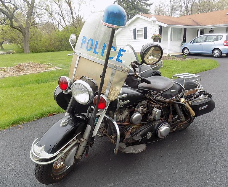 Panhead Cop - 1960 Harley-Davidson Police