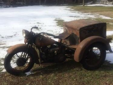 Misleading Cosmetics - 1937 Harley-Davidson Servicar