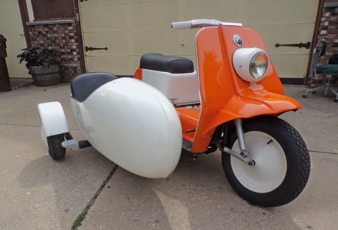 Ending Soon - 1964 Harley-Davidson Topper with Sidecar