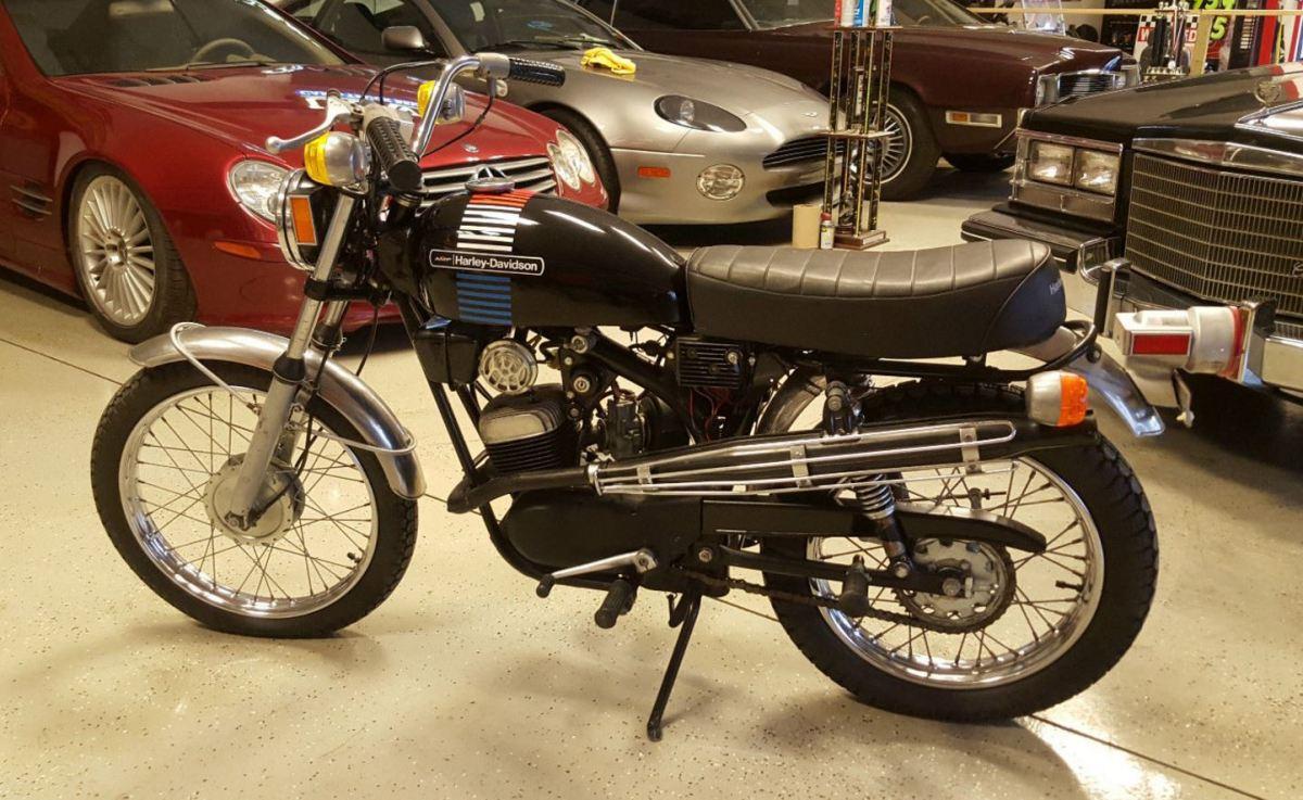 220 Miles - 1973 Harley-Davidson Z90