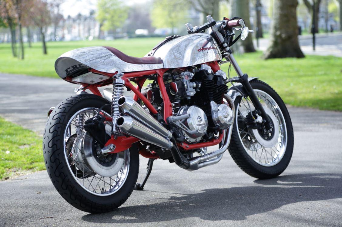 In England - 1981 Honda CB750 Custom