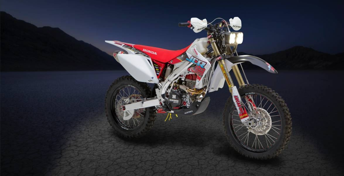 Ready for Baja - 2006 Honda CRF450X