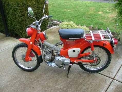 1968 Honda Ct90 K0 For Sale Bike Urious