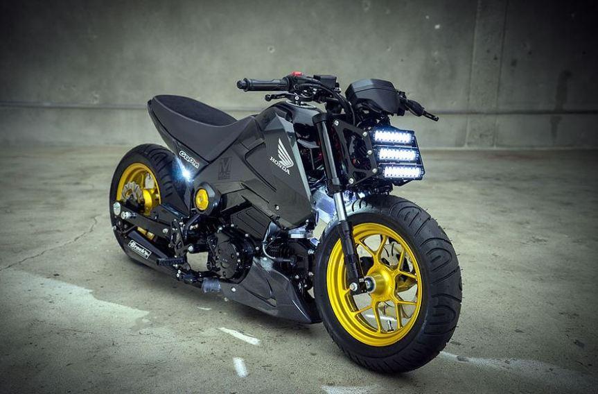 Honda Fit 2015 >> 2014 Honda Grom Custom - Bike-urious