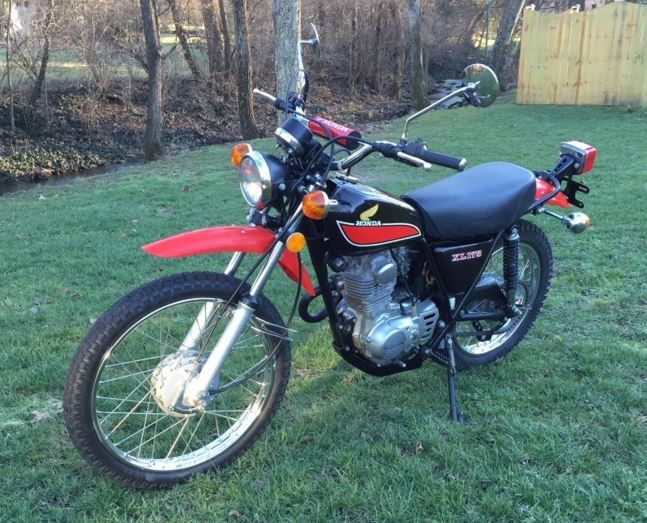 Showroom Condition - 1977 Honda XL175 With 481 Miles