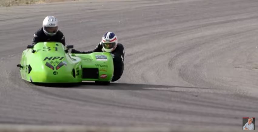 Video Intermission - Jay Leno Drives a Sidecar