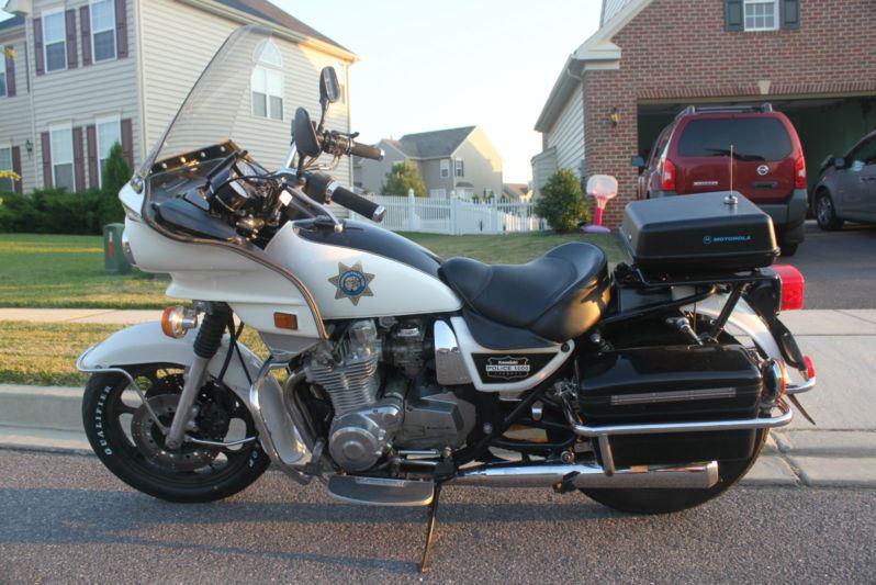 Kawasaki KZ1000P Police \u2013 Left Side \u2013 Bike-urious