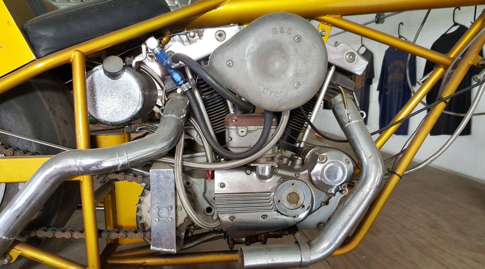 Kosman racing products - Classic Dragster 1979 Kosman Sportster Bike Urious