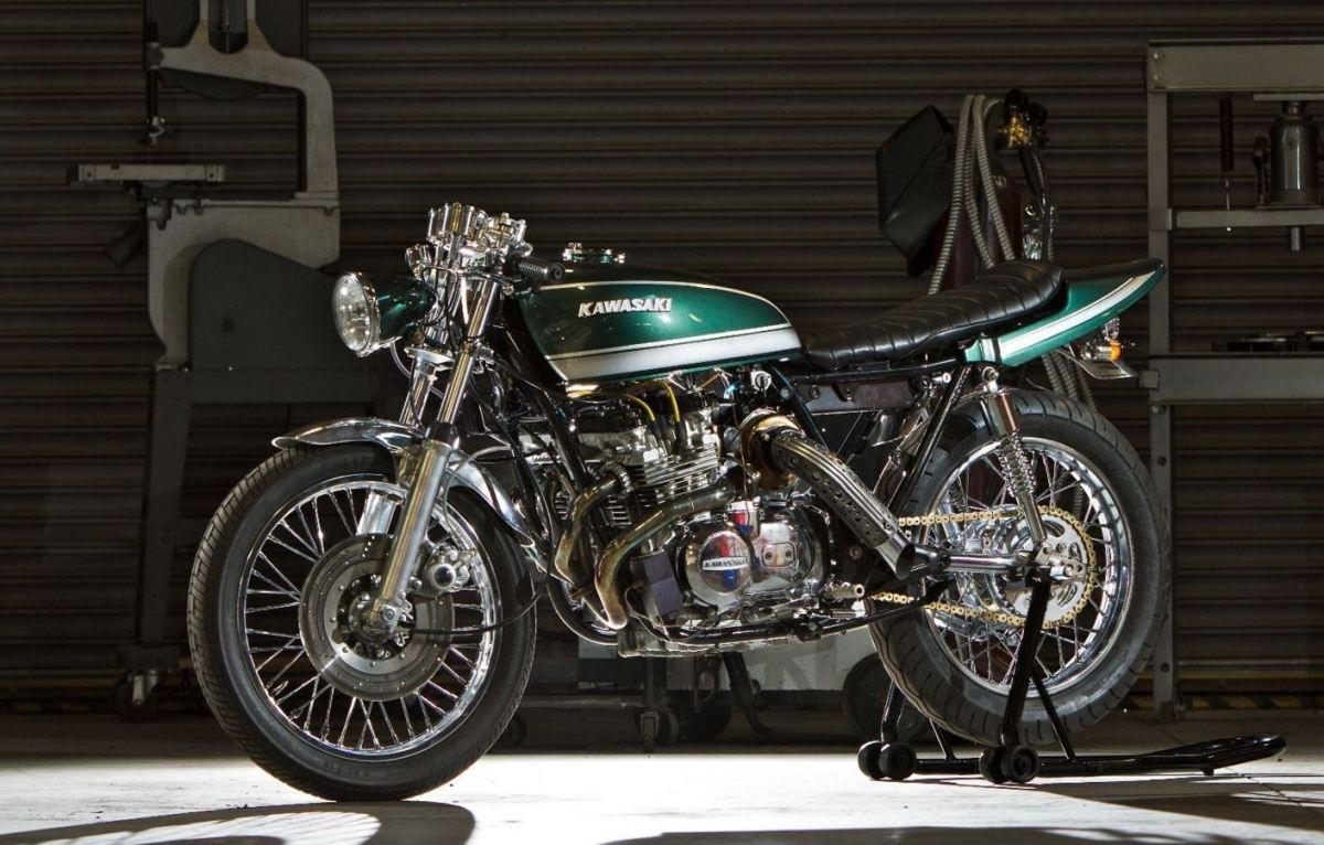 Magnum Opus Custom - 1978 Kawasaki KZ830 Turbo