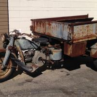 Hercules - 1954 Moto Guzzi Ercole
