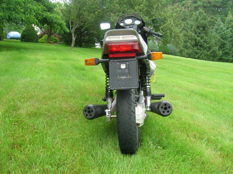 Moto Guzzi Lario V65 - Rear