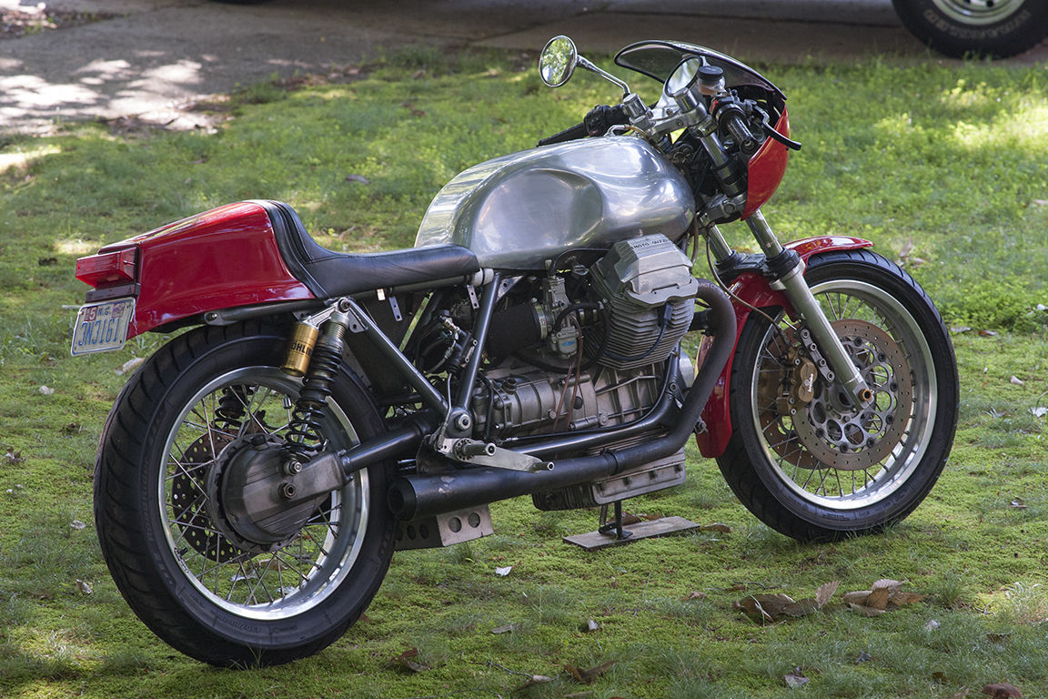 1984 moto guzzi lemans cafe racer for sale bike urious. Black Bedroom Furniture Sets. Home Design Ideas