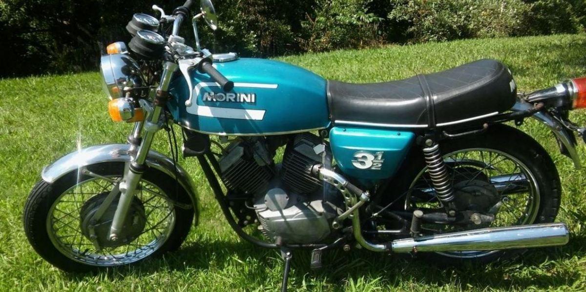 Spare Parts Party - 1975 Moto Morini 3 1/2