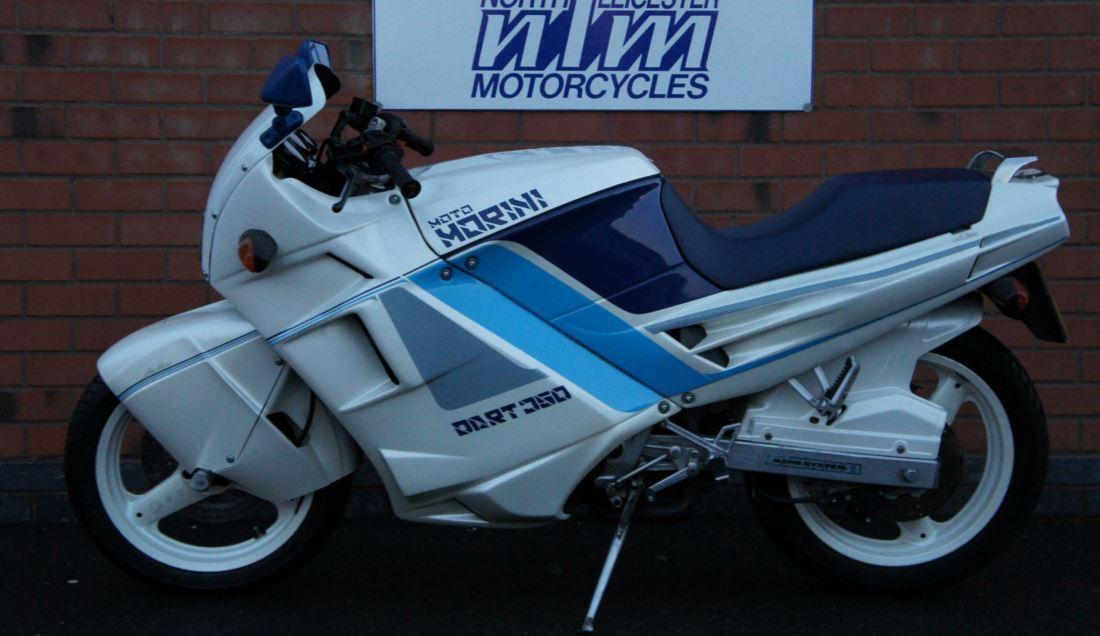 In England - 1990 Moto Morini Dart