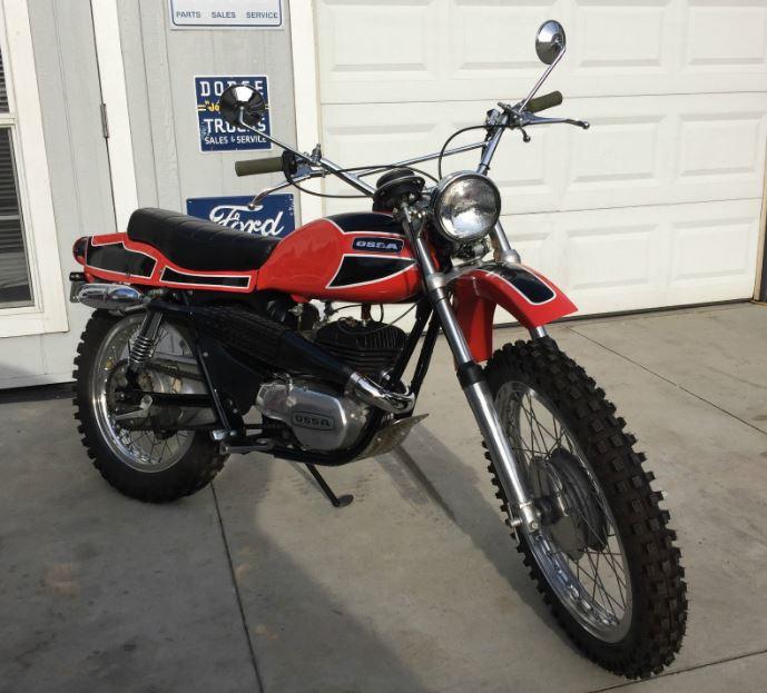 Restored - 1971 Ossa Pioneer 250