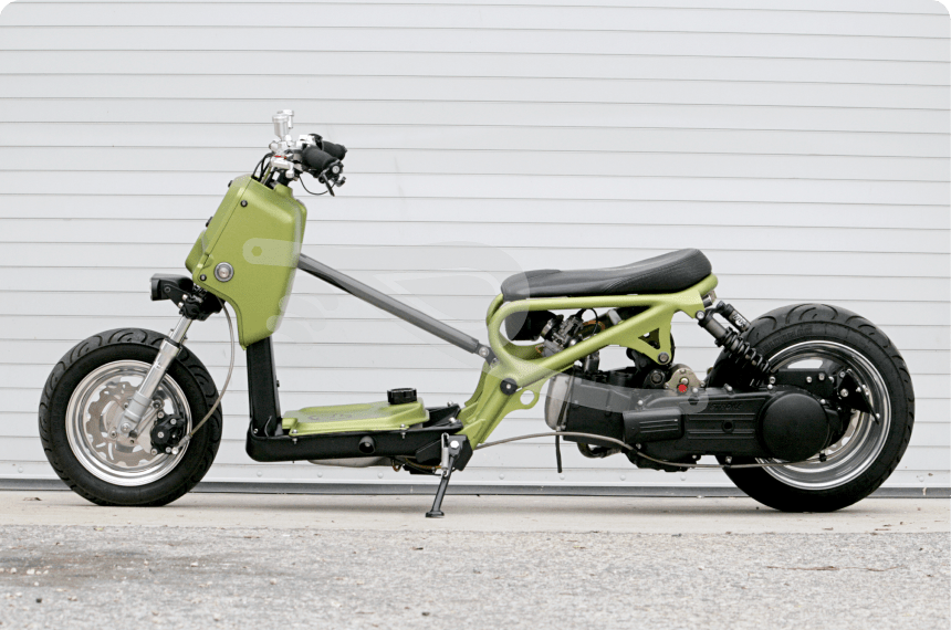 Honda Ruckus For Sale >> Couple of Custom Honda Ruckus' - Bike-urious