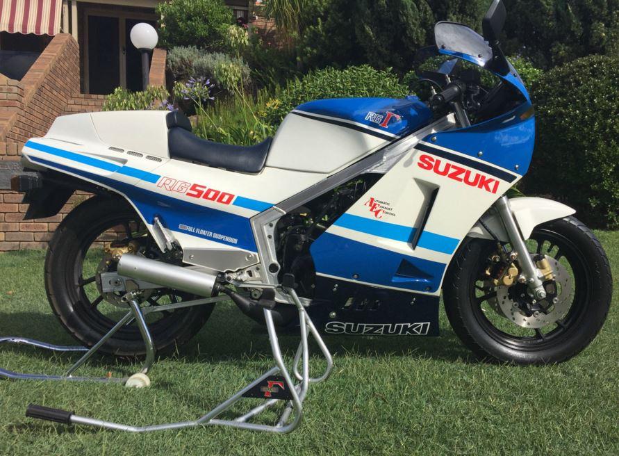 Do You Believe?  Pre-Production Suzuki RG500