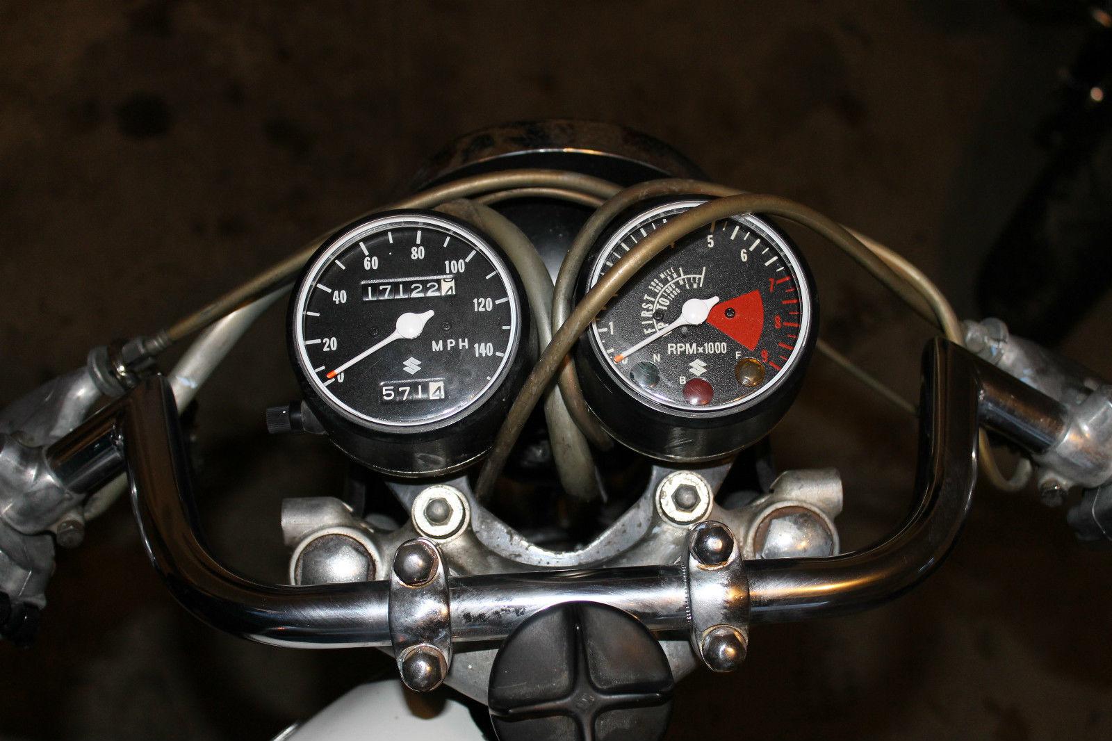 Cafe Racer Gauges : Suzuki t cafe racer for sale bike urious