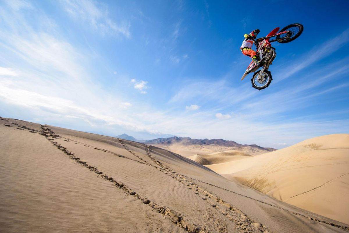 Video Intermission - Freeride MX in Death Valley