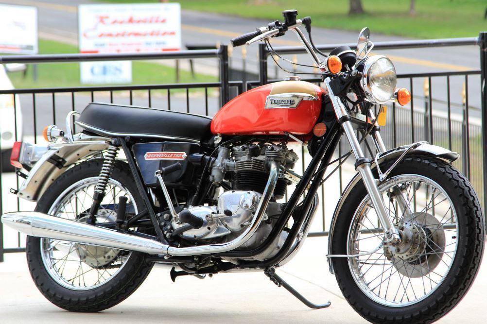 1973 Triumph Bonneville T140V