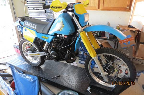 Restored and Street Legal - 1984 Yamaha IT490