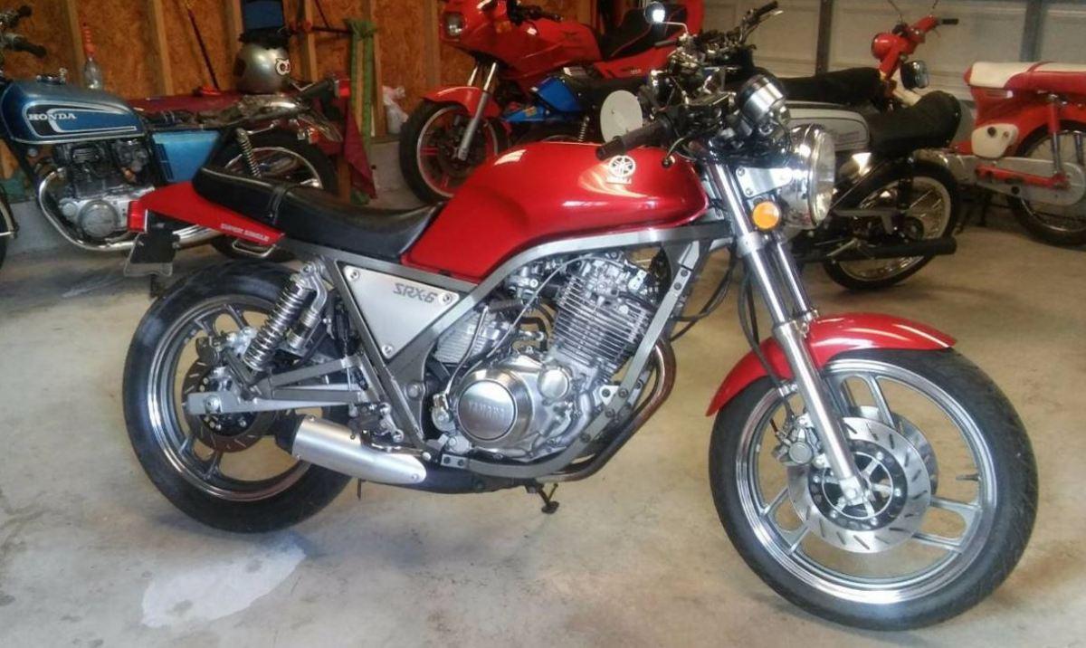 500 Miles - 1986 Yamaha SRX600