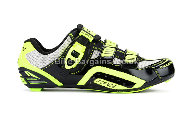 Force Race Black Carbon Cycling Shoes 91 Was 140 39