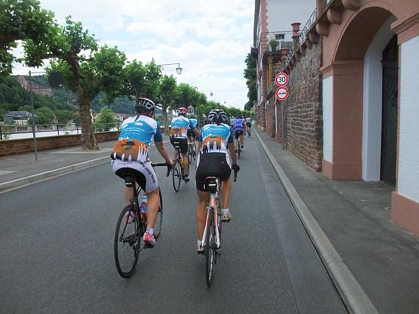 Flottes Rollen in Heidelberg