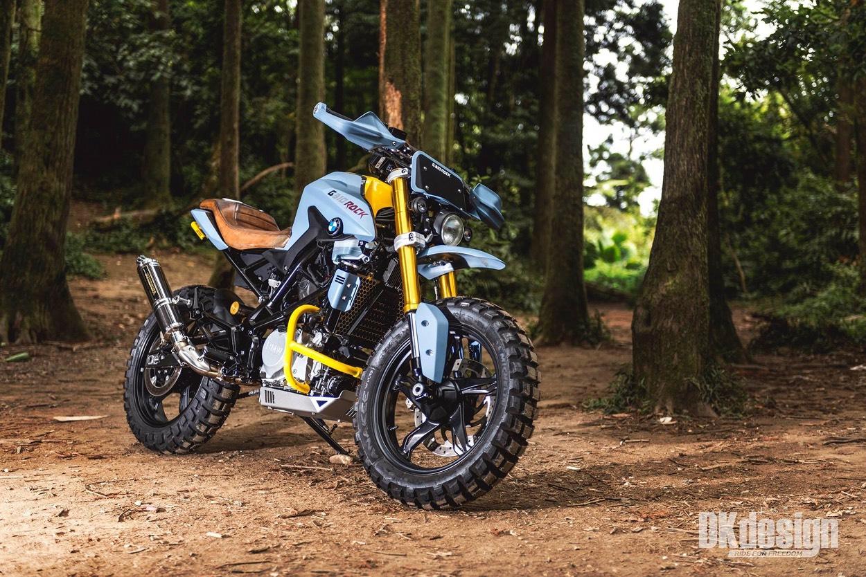 Entry7 Bmw G310r Scrambler By Dkdesign Bikebound