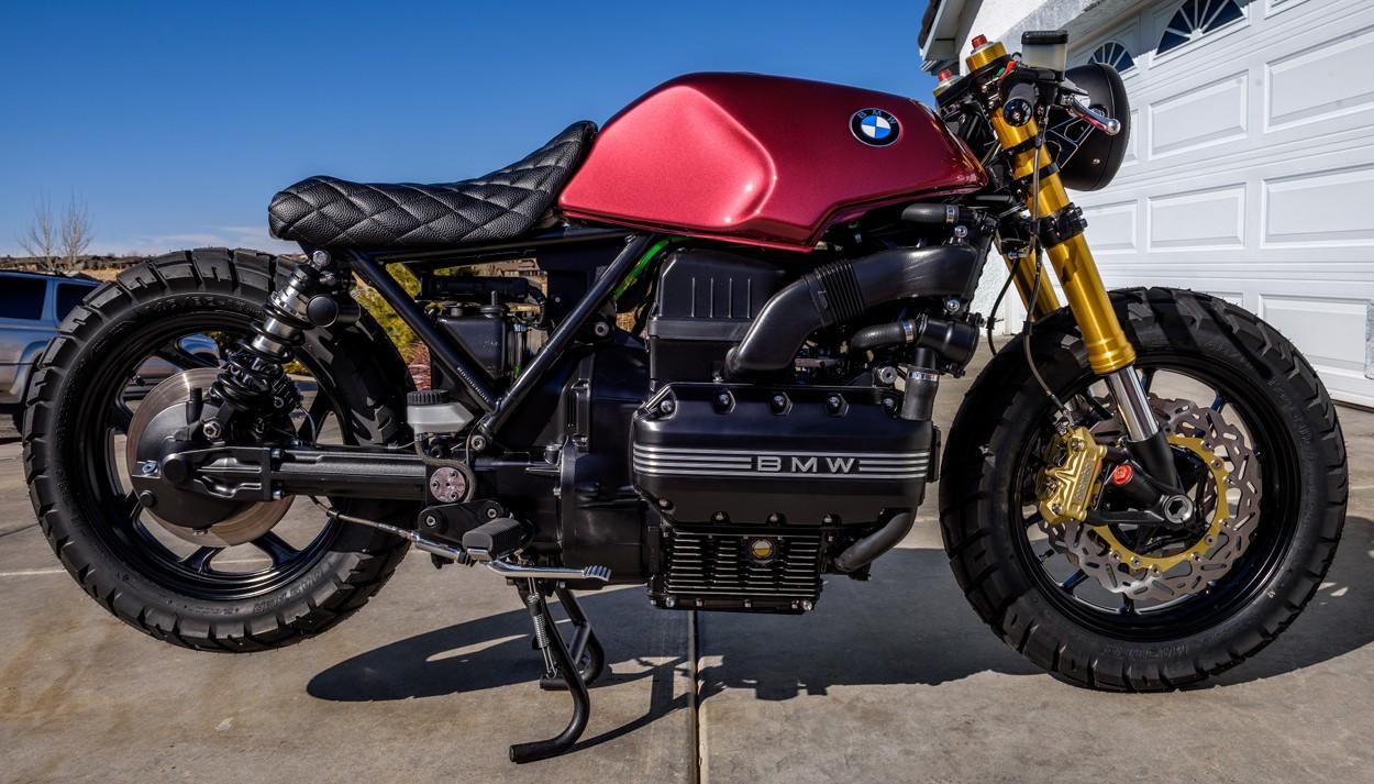 Motorcycle Car Wallpaper Bmw K100 Bobber Mira Bikebound
