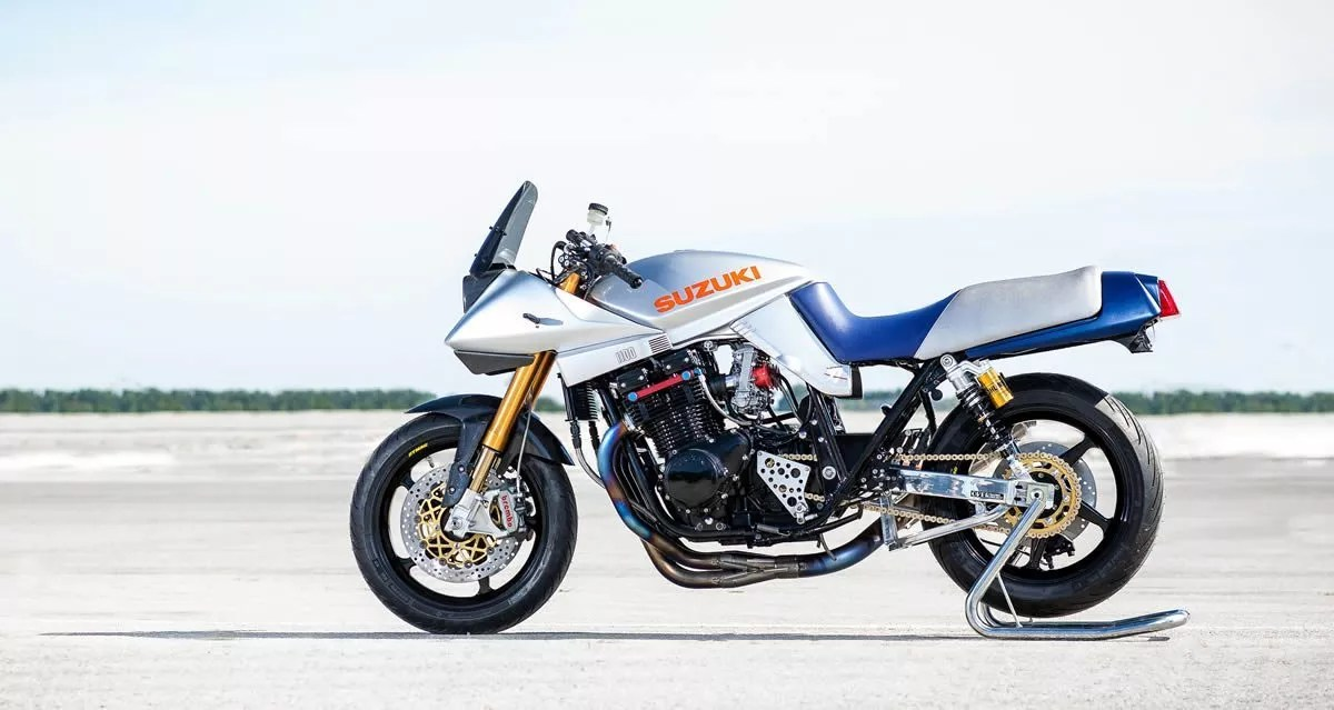 suzuki katana restoration by ackermann cycle performance - bikerMetric