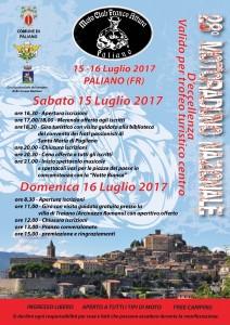 28° raduno di Paliano (FR) - 16 luglio
