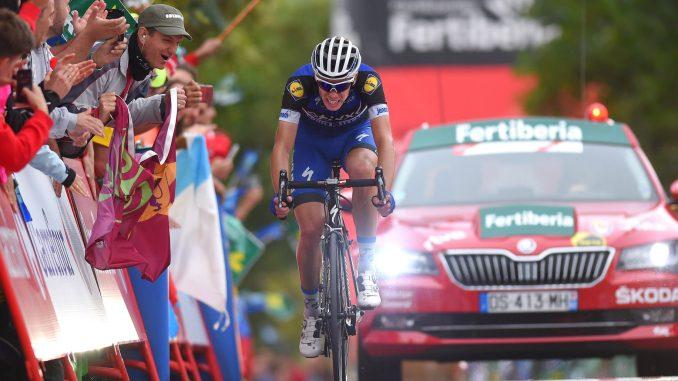 Cycling: 71st Tour of Spain 2016 / Stage 9 Arrival / David DE LA CRUZ (ESP)/ Cistierna - Oviedo. Alto del Naranco 600m (164,5km)/ La Vuelta / © Tim De Waele