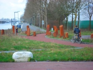 Bike-only transportation connection in Groningen, Netherlands. Image Credit: Zachary Shahan / Bikocity