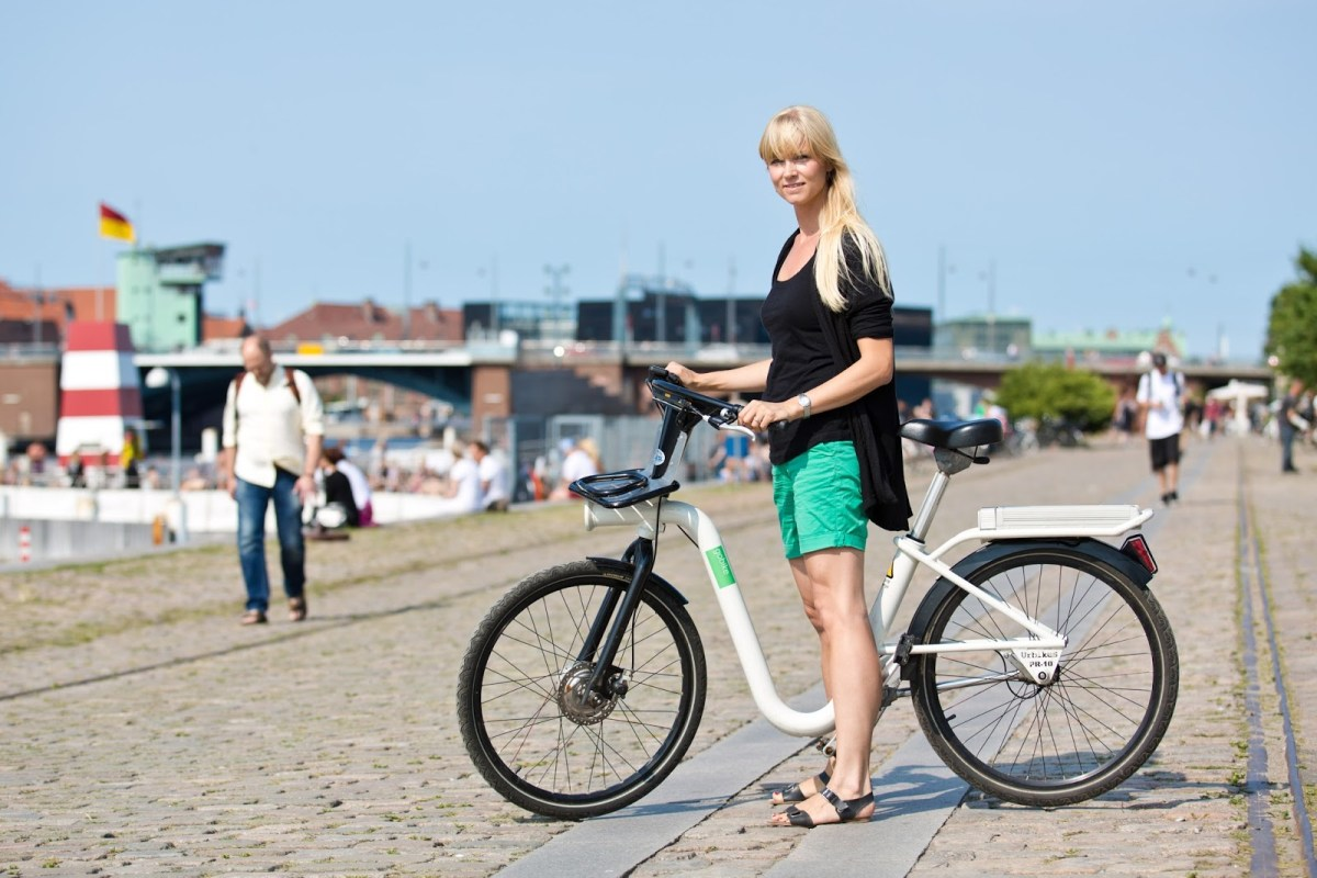 Copenhagen Bike Sharing Program To Include Bikes With Tablet & Built-In GPS, Real-Time Train Info, & Ticket Integration