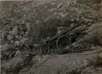 Italienische Artillerie-Stellung bei Pluzne. | K.u.k ...