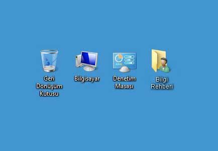 Windows 10 Masaüstü Simge Ayarları