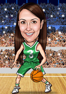 Girl Playing In Water Wallpaper Basketball Bill And Ben The Cartoon Men Caricatures