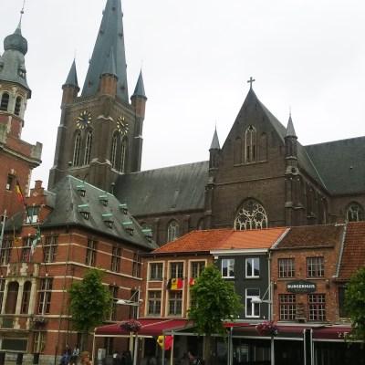 Eeklo Marktplatz