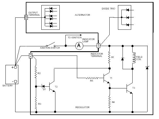 Gmc Alternator Wiring Wiring Diagram