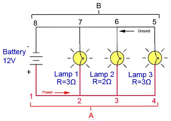 Parallel Circuit Diagram For Wiring Wiring Diagram