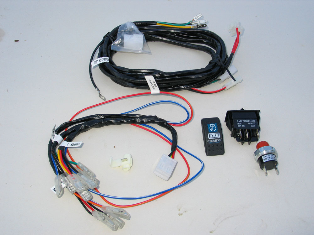 arb air locker wiring harness